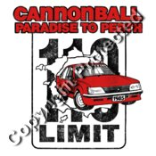 Cannonball Paradise to Perth 1985